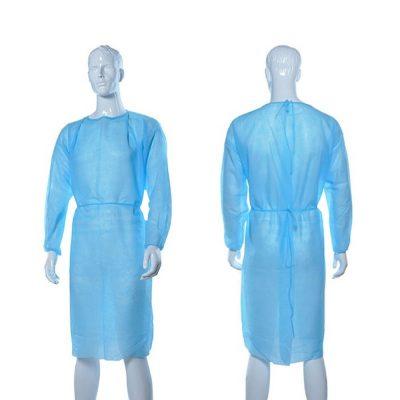 Halate-Medicale,-Examinare,-Albastru-(tip-vizitator)